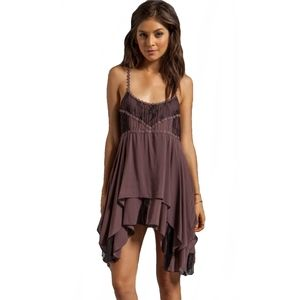 Free People Slip Lace Dress (Xsmall)